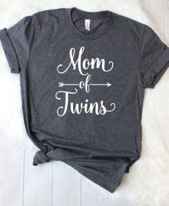 Mom Of Twins Shirt ZNF08