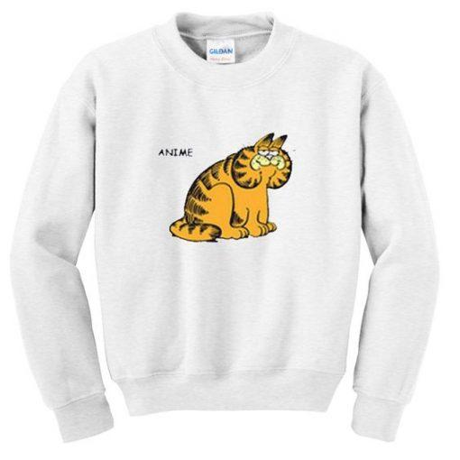 anime garfield sweatshirt ZNF08