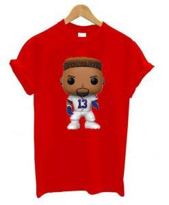 13 Odell Beckham Jr T shirt ZNF08