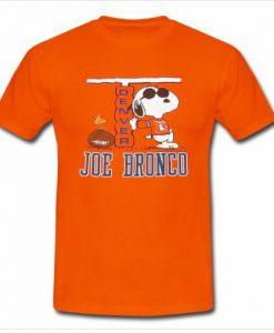1980's Snoopy Denver Broncos T shirt ZNF08