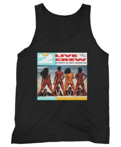 2 Live Crew As Nasty As They Wanna Be Man's Tank Top ZNF08
