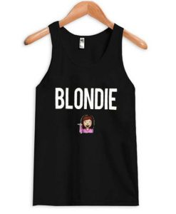 About Blondie Emoji Tank top ZNF08