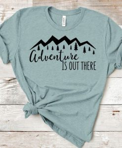 Adventure Is Out There TSHIRT ZNF08