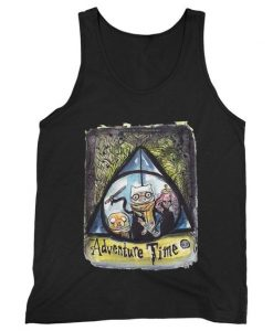 Adventure Time Harry Potter Man's Tank Top ZNF08