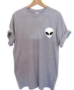 Alien Head T shirt ZNF08