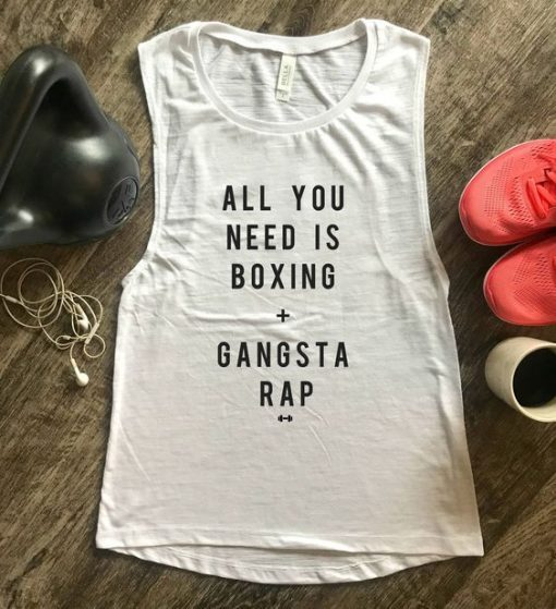 All You Need is Boxing Tank Top ZNF08