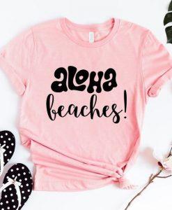 Aloha Beaches Bridal T-Shirt ZNF08