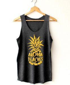 Aloha beaches beaches Tanks Tops ZNF08