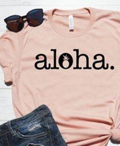 Aloha t shirt ZNF08