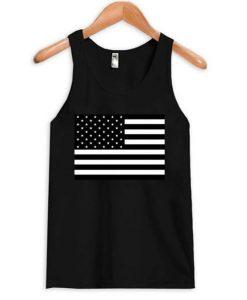 American Flag B&W Tanktop ZNF08
