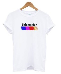 BLONDE White T shirt ZNF08