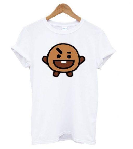 BTS BT21 Shoocky T shirt ZNF08