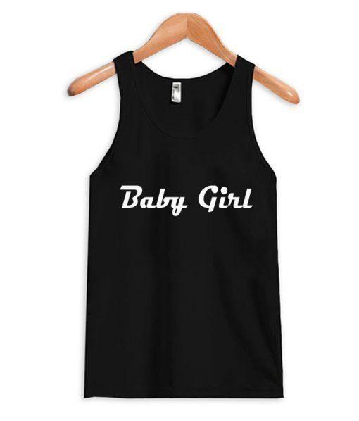 Baby Girl Black Tanktop ZNF08