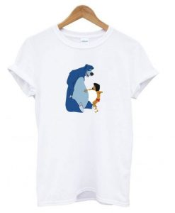 Baloo and Mowgli t shirt ZNF08