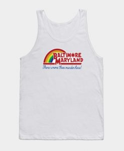 Baltimore Maryland - Reading rainbow Tank Top ZNF08