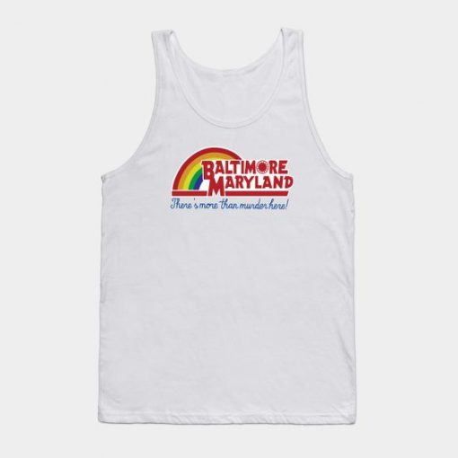 Baltimore Maryland – Reading rainbow Tank Top ZNF08