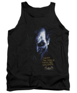Batman Arkham Joker Adult Tank Top ZNF08