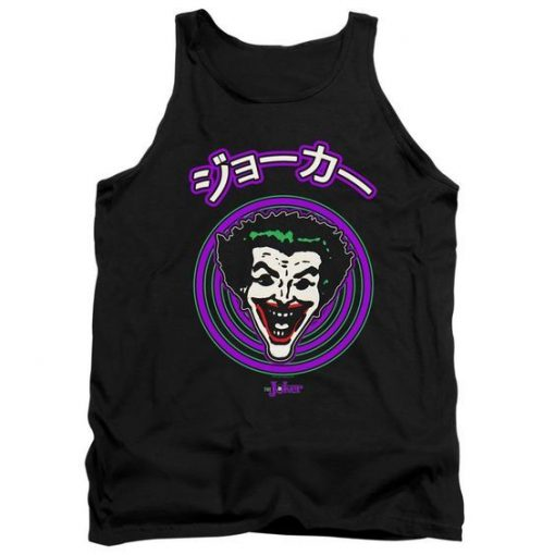 Batman Japanese Cartoon Spiral Tank Top ZNF08
