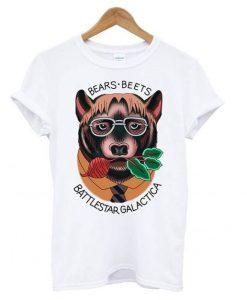 Bears Beets Battlestar Galactica T shirt ZNF08