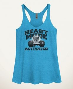 Beast Mode Activated Kitten Women's Tank Top ZNF08