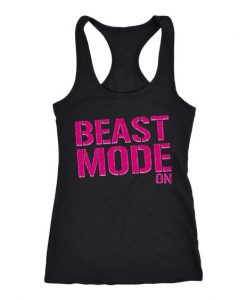 Beast Mode On Tank Top ZNF08