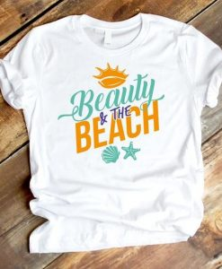 Beauty and the beach Tshirt ZNF08