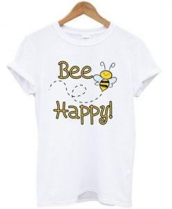 Bee happy t-shirt ZNF08