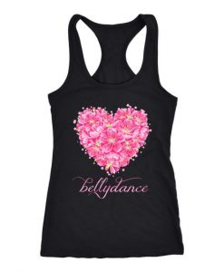 Belly Dance Heart Tank Top ZNF08