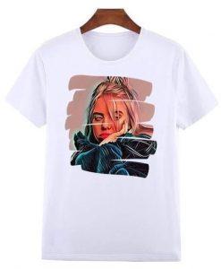 Billie Eilish White Shirt ZNF08