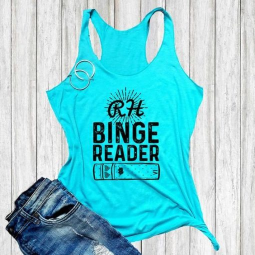 Binge Reader TANK TOP ZNF08