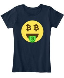 Bitcoin Cryptocurrency T-shirt ZNF08