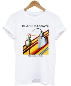 Black Sabbath Technical Ecstacy T shirt ZNF08