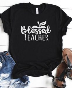 Blessed Teacher T Shirt ZNF08
