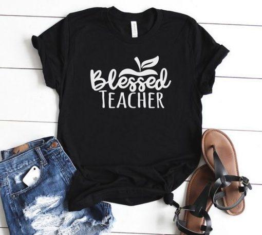 Blessed Teacher T Shirt ZNF08
