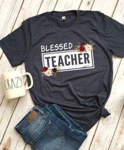 Blessed Women Teacher Tshirt ZNF08