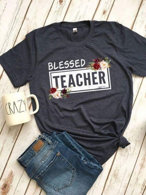 Blessed Women Teacher Tshirt ZNF08