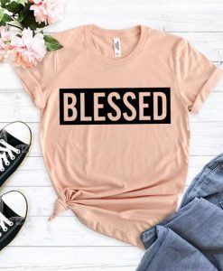 Blessed mom T Shirt ZNF08