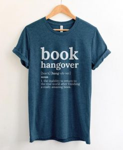 Book Hangover Shirt ZNF08