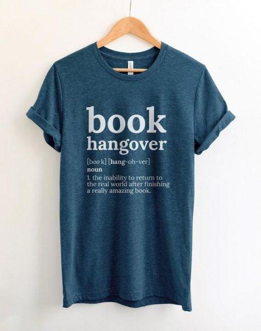 Book Hangover Shirt ZNF08