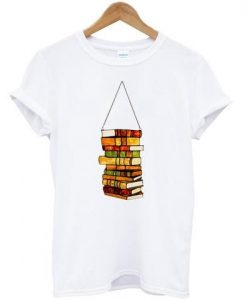 Book Lover's Stained Glass Panel T shirt ZNF08