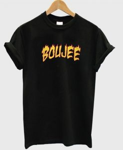 Boujee Fire Thrasher T shirt ZNF08