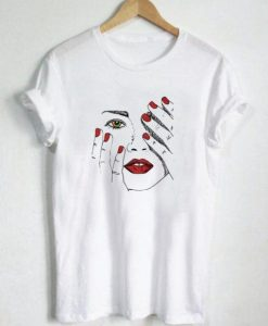 Buy Beautiful Woman T-Shirt ZNF08