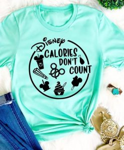 Calories Dont count T-shirt ZNF08