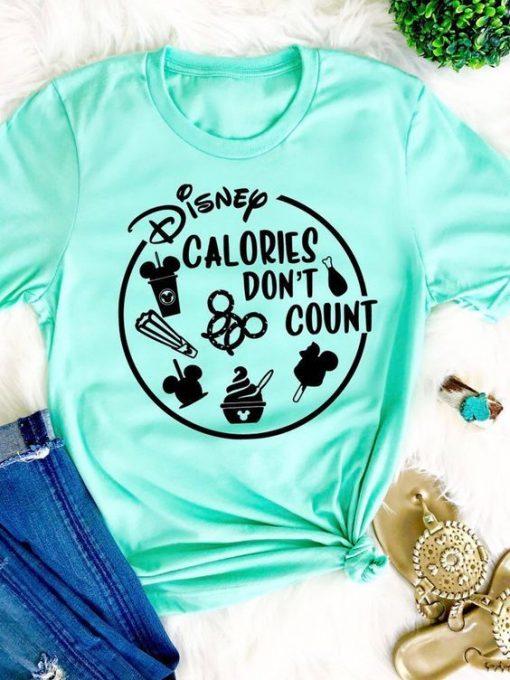 Calories Dont count T-shirt ZNF08