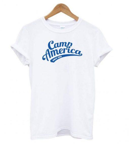 Camp America Since 1969 T shirt ZNF08