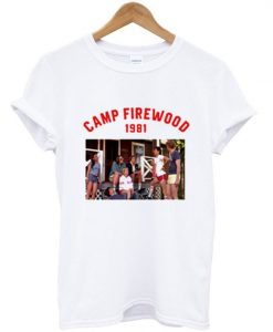 Camp Firewood 1981 T-Shirt ZNF08