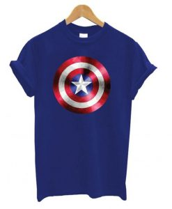 Captain America Shield T shirt ZNF08