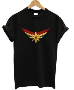 Captain-Marvel-Logo-T-shirt ZNF08
