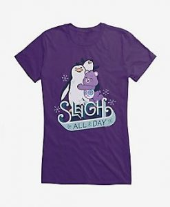 Care Bears Sleigh All Day Girls T-Shirt ZNF08