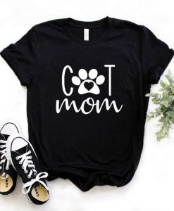 Cat Mom T-Shirt NZF08